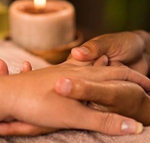 Moisture boost manicure